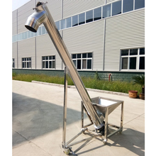 Vibrator Hopper Equipped Powder Elevator Automatic Auger Screw Feeder