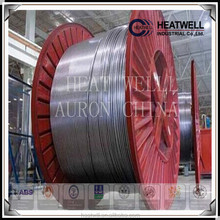 AURON/HEATWELL ASTM A312 TP321 BRIGHT ANNEALING SEAMLESS COILED TUBING 1/2*0.049 500-12000METERS