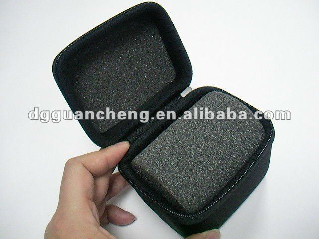 GC----New black soft interior cushion for support eva foam bags