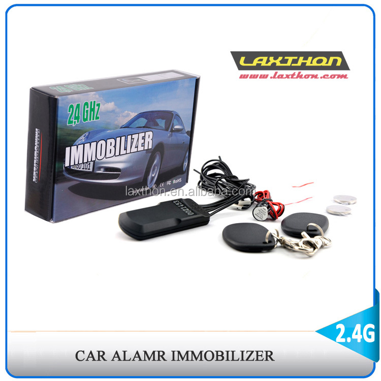 2.4Ghz RFID car alarm immobilizer