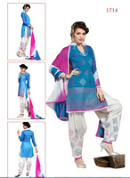Kum Kum Chanderi Cotton Salwar