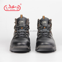 Black Split Leather Sport Safety Shoes