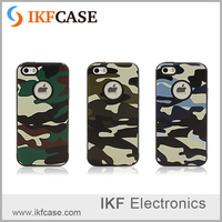Unique design camouflage cool rigid and soft tpu and pc phone case for iphone 6