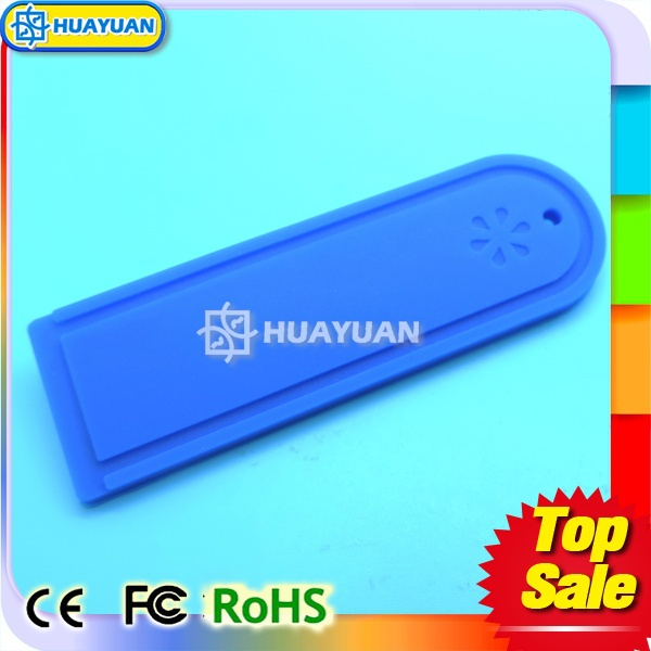 Silicon RFID waterproof laundry tag with UHF chip EPC Gen2