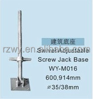 Scaffolding universal screw Jack for building stage