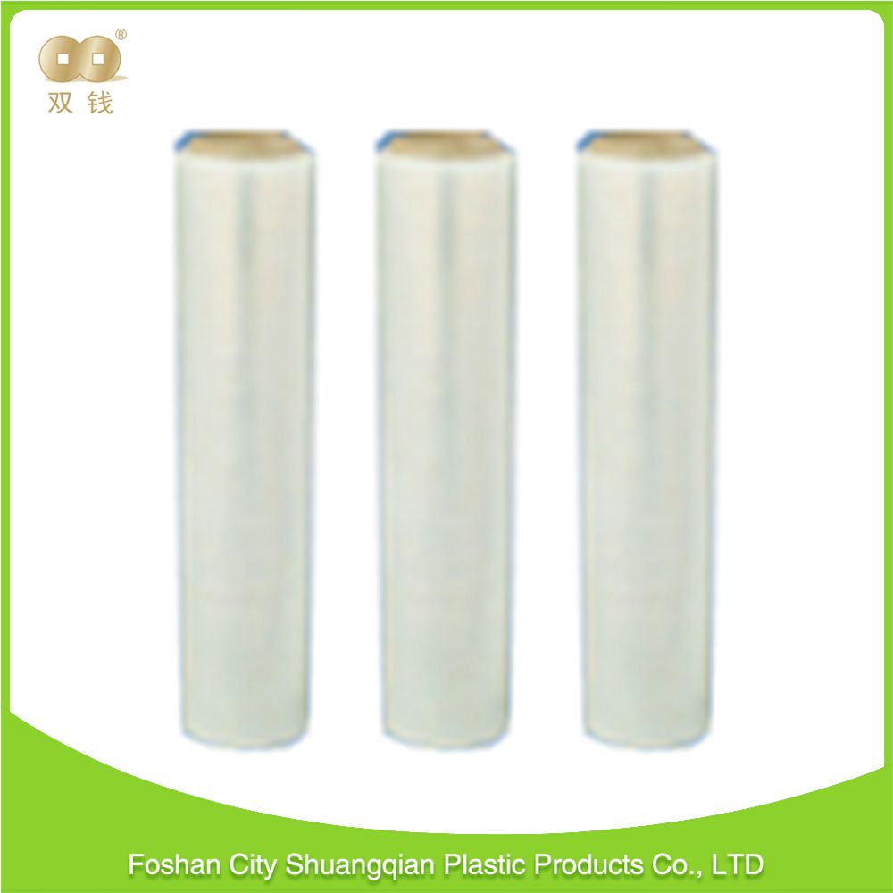 New product best quality Translucent 0.02 to 0.5mm thickness plastic wrap transparent pe stretch film