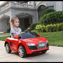 2017 Newest licensed 12v electric car toy ride on Audi car for kids with 2.4G R/C