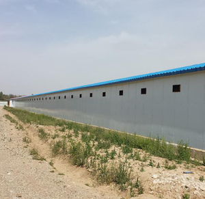 poultry farm control shed in Pakistan