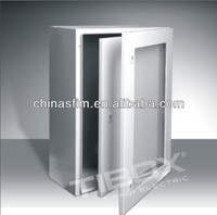 plexigalss door and inner door weatherproof electronic enclosure