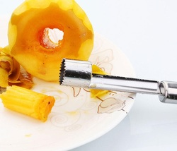 factory wholesale creative kitchen gadget apple slicer or corer,stainless steel fruit corer