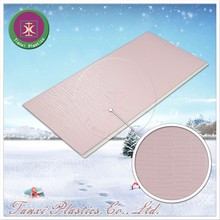Psychedelic Pink Rectangular Lattice Silver Light Luxurious Figure Artistic Ceiling PVC Ceiling Panel