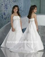 ball gown for kids white