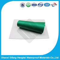 polyvinyl chloride with fabric root puncture resistant waterproof membrane