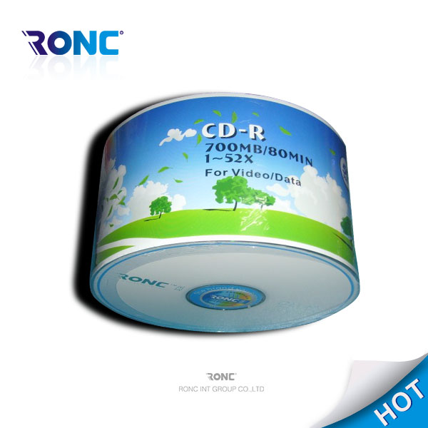 100pcs/cake box bulk cd-r printable media oem