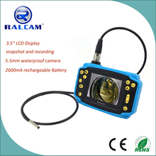 RALCAM new arrival industrial borescope with rechargeable battery