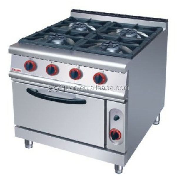 professinal gas stove and 4 burner gas cooker with oven