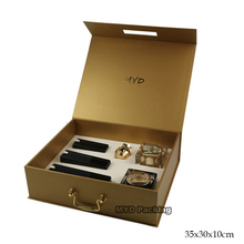 Luxury mdf wooden cosmetic cream box for a combo