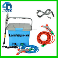 12V electric portable steam car wash , foam mini car wash machine , mobile 12 volt car wash