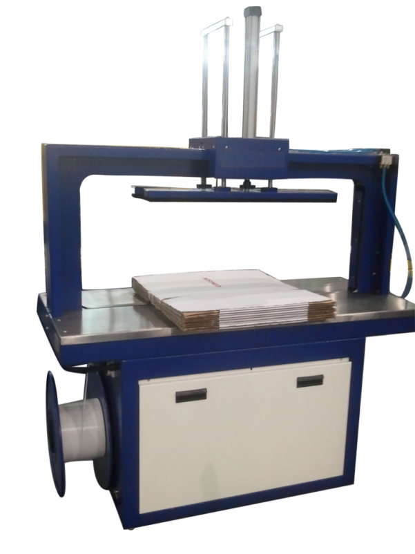 5mm LX305 automatic corrugated strapping machine with top pressure