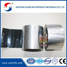 2mm aluminium finished bitumen flashing tape for wall
