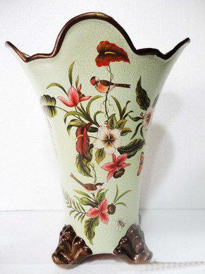 Antique Porcelain Markings Ceramic Antique Vases Silica Vase Baked