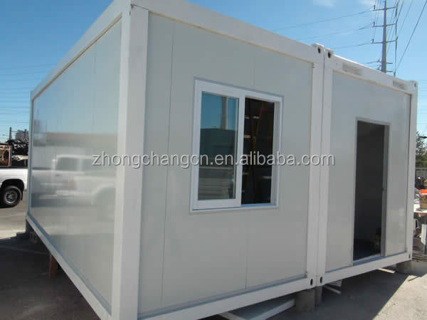 Ready made prefabricated flat pack modular container house price