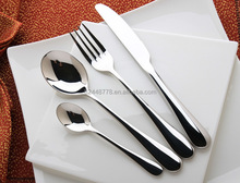 Creative Innovative Custom 304 Stainless Steel Hotel Western Flatware with Logo