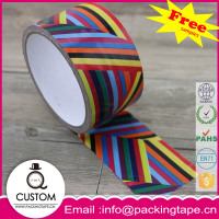 Art and craft single sided cloth duct tape with strong tack and holding power