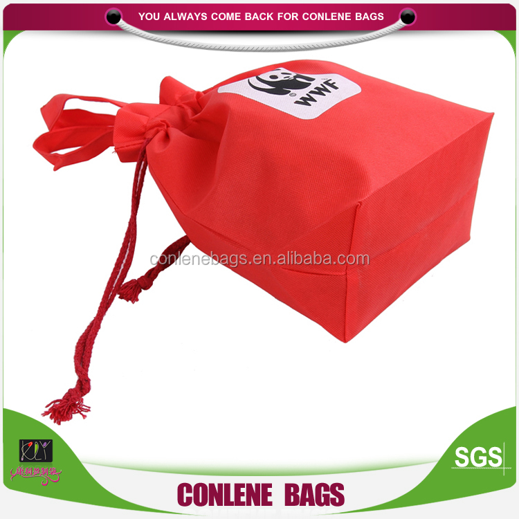 Buy China Retail Non Woven Drawstring Shoe Bag