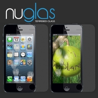 Nuglas 9H Hardness 0.3mm 2.5D High Clear Tempered Glass Screen Protector for iPhone 5s
