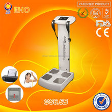 HOT SALE! GS6.5B Metabolic Age 25 Values Test Touch Screen Quantum Bio-electric Body Analyzer