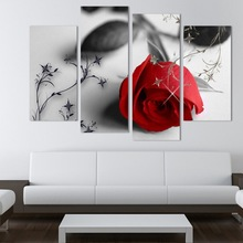 Beautiful Pictures Famous 3D Oil Paintings Of Flowers On Canvas