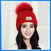 Plain Winter Acrylic Toque Warmly Knit Casual Oversized Beanie Hat