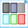 Multi Color 2017 Newest Transparent 3 Folding Leather Cover For iPad mini 1 2 3