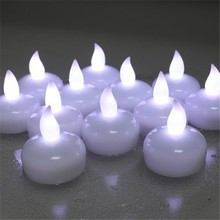 Christmas Decoration Multi-color led floating light water activated candle