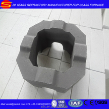 Sintered refractory Chrome Zirconium Mullite brick for glass furnace