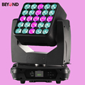 25x15W 4inl led matrix zoom moving head with DMX512 for light show