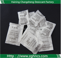 Desiccant Humidity Control Packing Cloth White Silica Gel Beads For Garment Desiccants