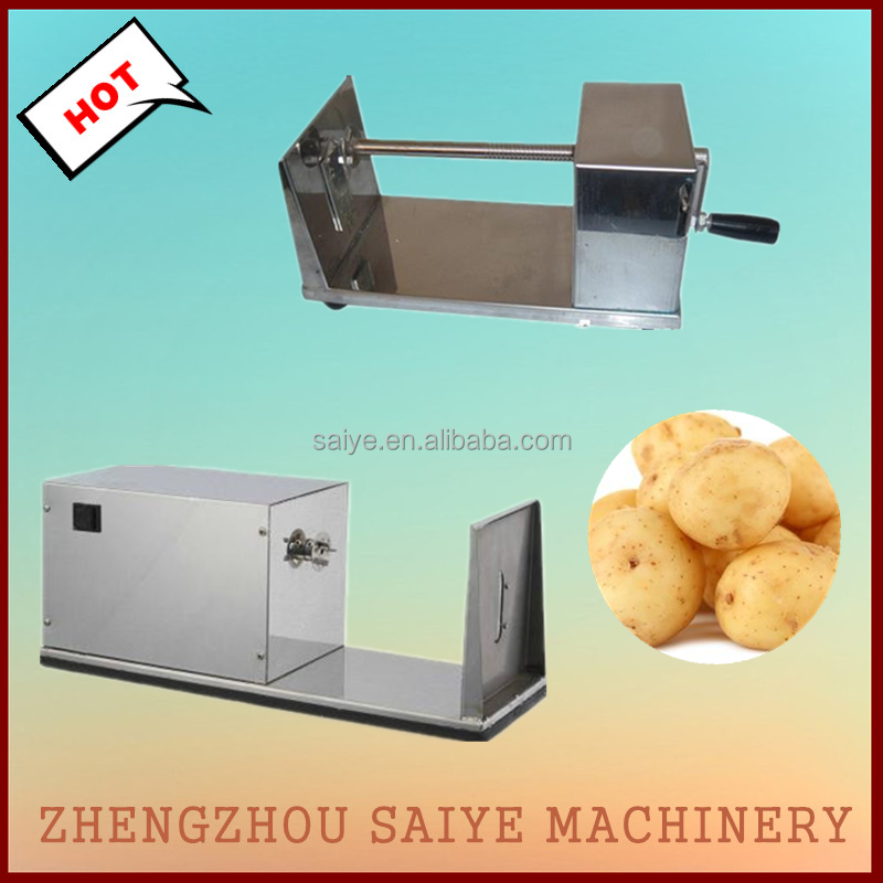 electric potato rotating cutter