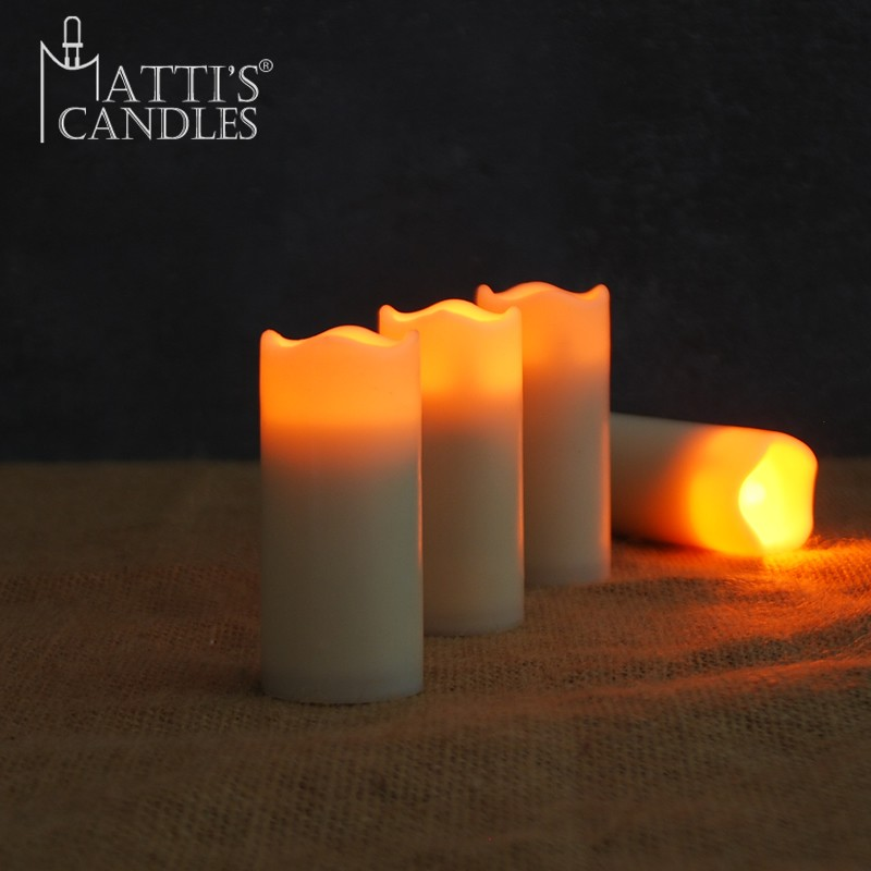 Matti's artificial led flameless votive candle/led candle light/candle wax