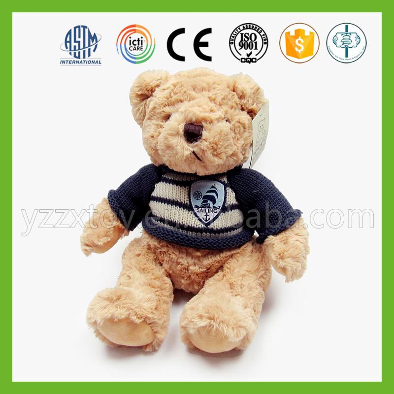 Top quality classic custom pp cotton stuffed teddy bear
