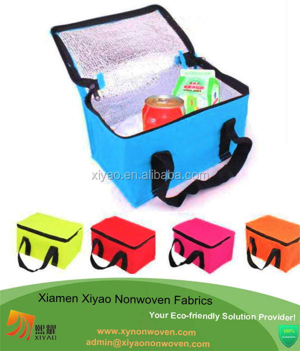 wholesale aluminium foil insulated cooler bag for wine storage