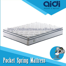 China Manufacturer High Quality Pillow Top Soft Foam Pocket Spring Dreamland Mattress ANP-0430B-2
