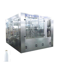 Automatic milk filling machine and plastic tube filling and sealing machine with labeling machine