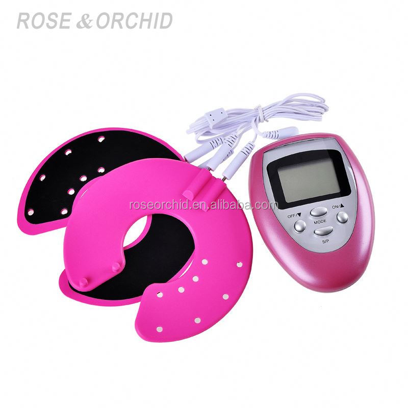 TENS Breast Massager with Electrode Silicone Pads