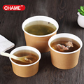 1000ml Paper disposable soup container with lid