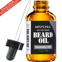 Unscented Private Label 100% Natural Organic Beard Growth Beard Oil