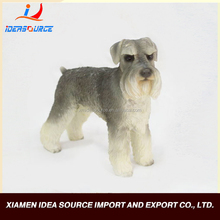Dog polyresin animal statues figurines, Animal Sculpture carving