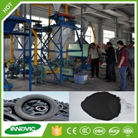 2015 China Henan INNOVIC Tire Recycling Equipment/Waste Material Project