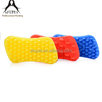 comfortable hair remover silicone pet grooming brush